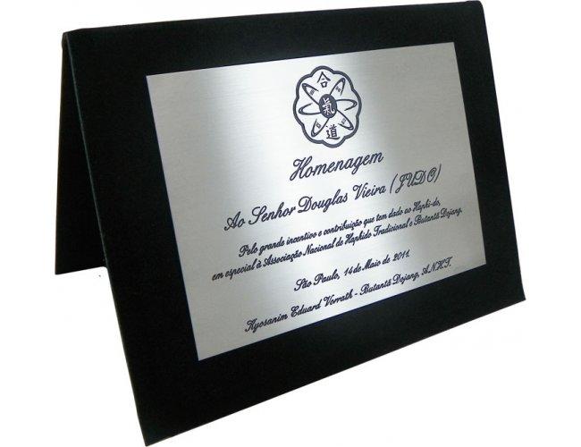 Placa de Homenagem 14x10cm PS242 (MB15575.0518)