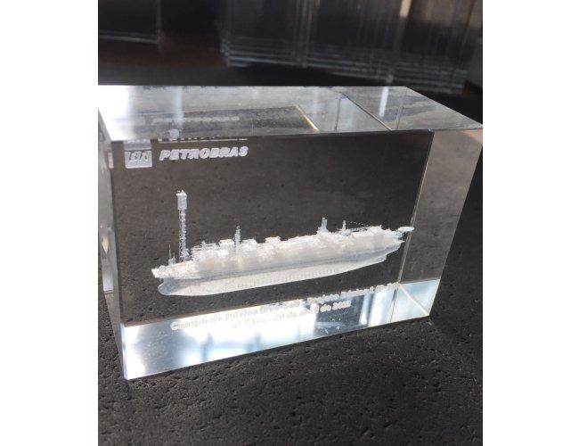 Cubo de Cristal 10x6,5x4cm (MB17000)