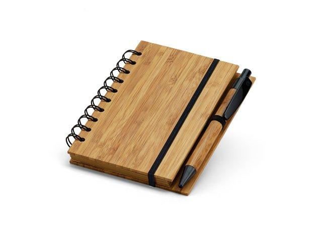 Bloco De Anotações De Bambu SP93486 (MB11120)