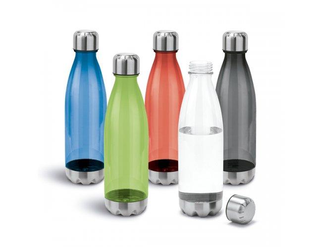 Squeeze Plástico Detalhes em Inox 700ml SP94687 (MB11015.0120)