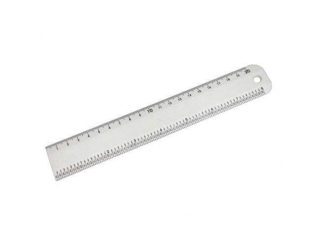 Régua Plástica 20cm Ferragista Rígida CY-B141