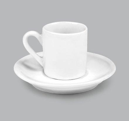 Xícara de Café c/ Pires 50ml BV10 (MB1833.0121)