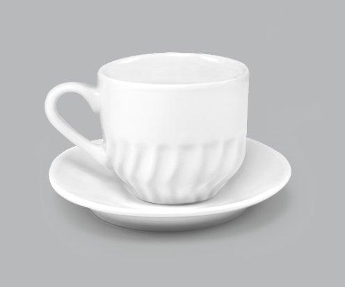 Xícara de Chá c/ Pires 250ml BV14
