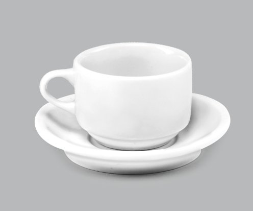 Xícara de Chá c/ Pires 320ml BV16 (MB11535.0318)