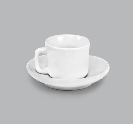 Xícara para Café c/ Pires 25ml BV27