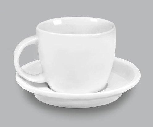 Xícara de chá c/ Pires 350ml BV293
