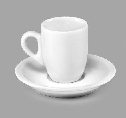 Xícara de Café c/ Pires 80ml BV295 (MB1891.0720)