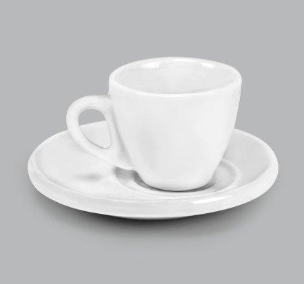 Xícara de Porcelana Com Pires 55ml BV310 (MB1935.0918)