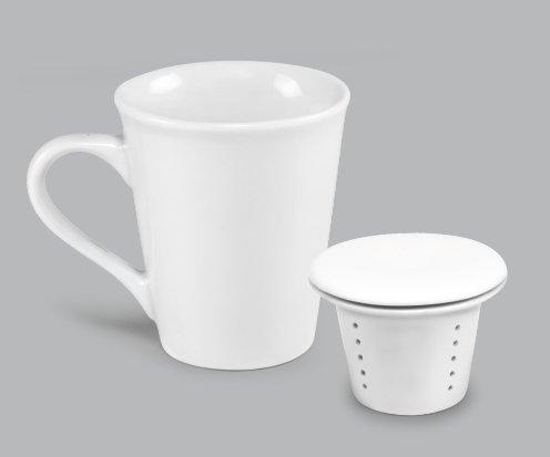 Caneca de Porcelana Infusora para Chá 200ml  BV352 (MB12682.0821)