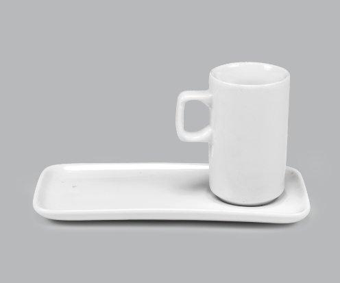 Xícara de Porcelana c/ Pires100ml BV364