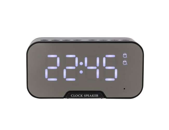Caixa de Som com Relógio e Porta Celualr XB03019 (MB15200.0321)