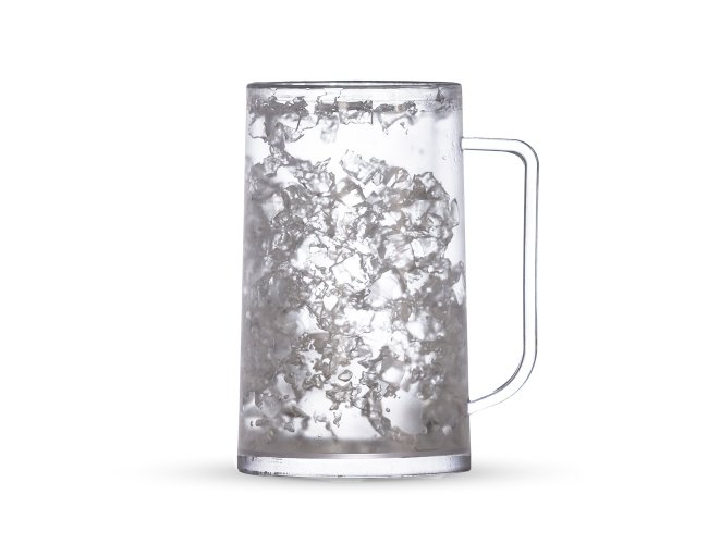 Caneca Acrilica com Gel 350ml XB13853 (MB1830)
