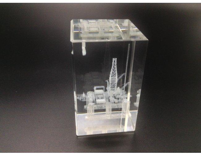 Cubo de Cristal 5x5x8cm (MB110000)