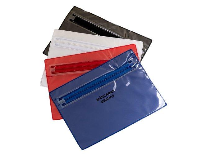 Envelope Plástico Duplo para Máscaras XB14556G (MB1355)