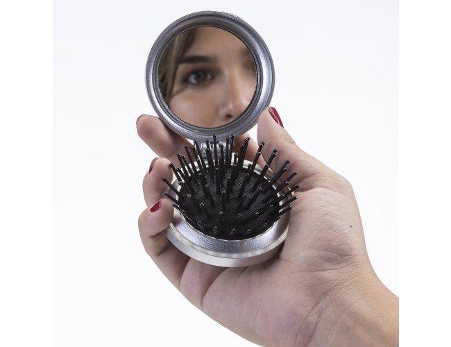 Espelho de Bolso com Escova XB342 (MB1270.0421)