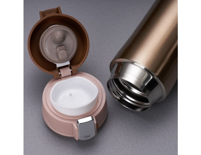 Garrafa Metal/Inox Térmica 450ml XB2087/PT143275 (MB12200.0121)