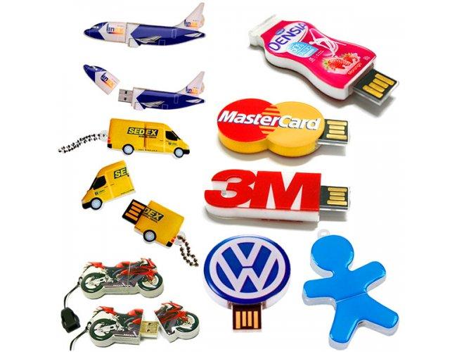 Pen Drive Estilizado em Acrílico 4GB PE4GB (MB11700.0220)