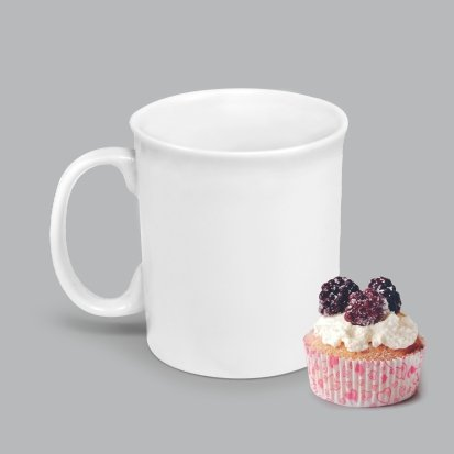 Caneca de Porcelana 350ml BV02 (MB1891.0720)