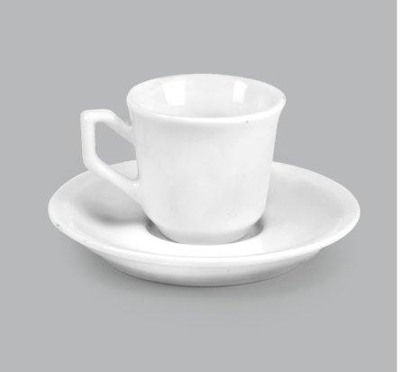 Xícara de Café c/ Pires 55ml BV25 (MB1794.1119)