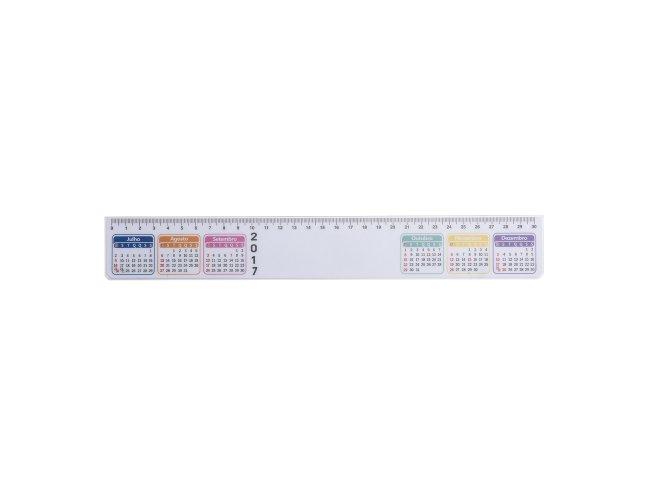 Régua Calendário Plástica XB13387 (MB1120.1017)