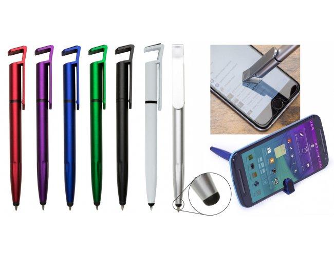 Caneta 4 em 1 com Touch Screen e Porta Celular XB00708 (MB1107.0221)