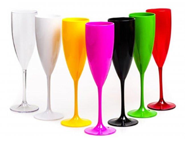 Taça Champagne Acrílico 150ml (MB1224.0421)