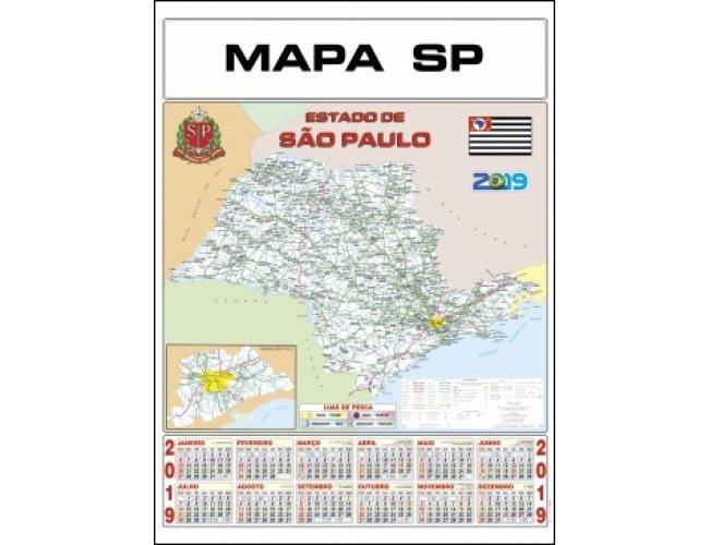 Folhinha Mapa SP (MB1195.0920)
